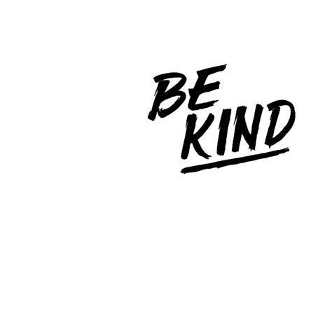 Kids Room Wall Murals be kind wall quote decal