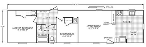 Redman Manufactured Homes Floor Plans by 14562n Fleetwood New And Used Single Wide And Double