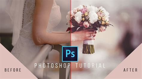 tutorial edit photo wedding photoshop photoshop tutorial wedding photo edit color and frame