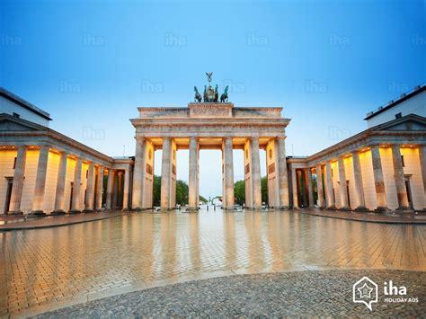 porta di brandeburgo berlino affitti germania in uno chalet per vacanze con iha privati