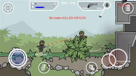 mod game mini militia doodle army 2 mini militia v 2 2 61 mod apk terbaru
