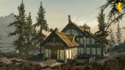 hearthfire houses skyrim hearthfire dlc trailer hearthfire gameplay build your own house adopt