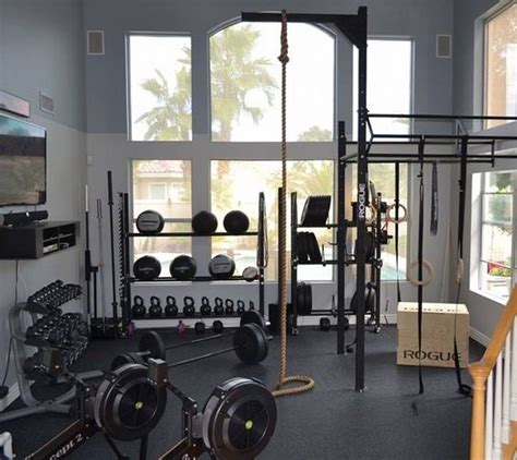 crossfit home rogue fitness and climbing on