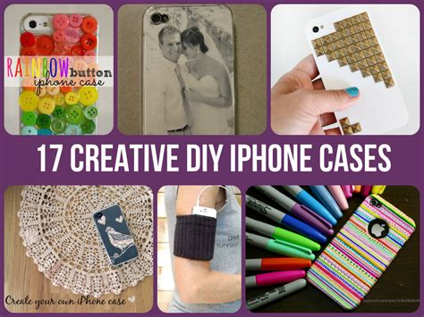 Iphone Home Button Decoration 17 creative diy iphone cases