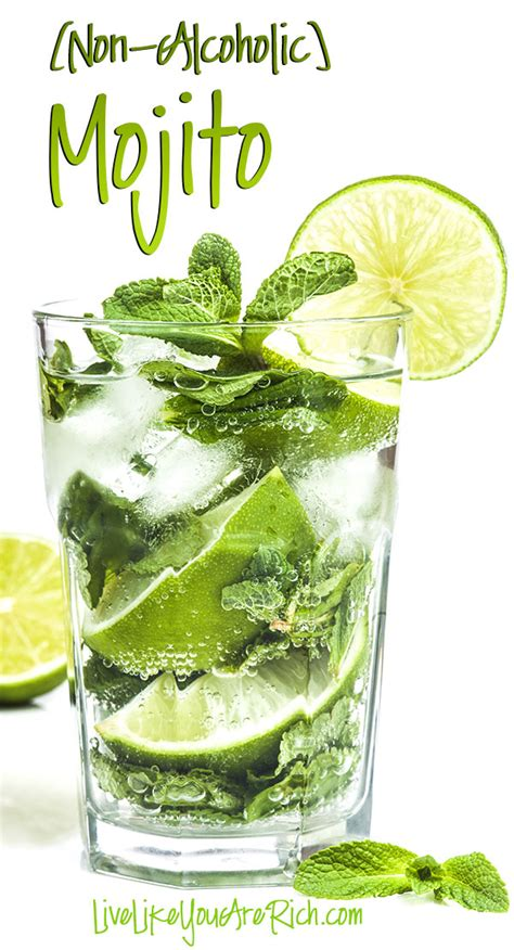 mojito recipe non alcoholic mojito recipe live like you are rich