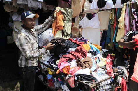 commercio cant these countries don t want your used clothing