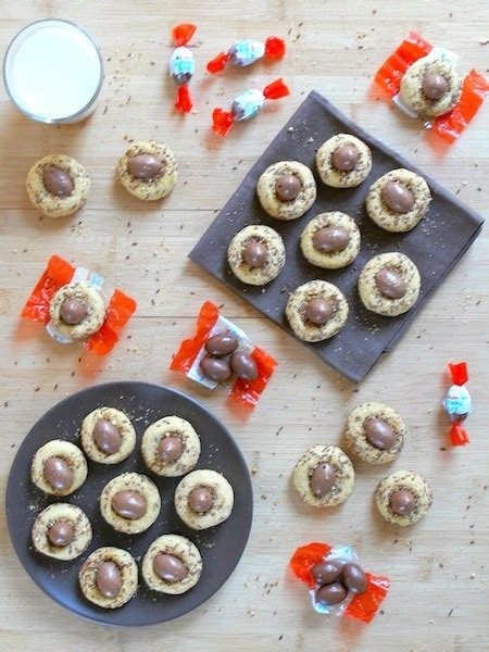Kinder Schoko Bans By Organicbatam white chocolate kinder schoko bonsthumbprint cookies