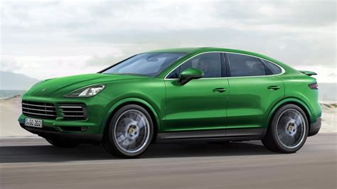 porsche made if porsche made a cayenne coupe it would look like this