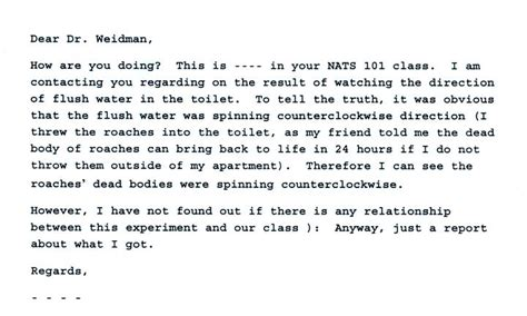 Mba Amazing Technology Email Question by Draining Water Experiment