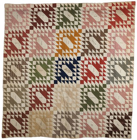 Signature Quilt Block Patterns by Signature Quilt In 226 œsawtooth Album Block 226 Pattern