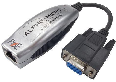amc netport ii n play power ethernet rs232 rs422