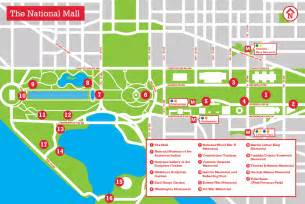 map of the mall of the national mall memorial parks the landscape