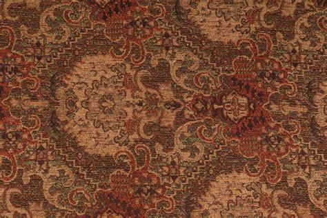 chenille tapestry upholstery fabric barnard chenille tapestry upholstery fabric in chestnut