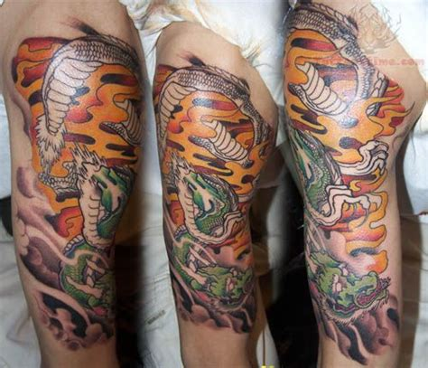 chinese quarter sleeve tattoo 36 chinese snake tattoos collection