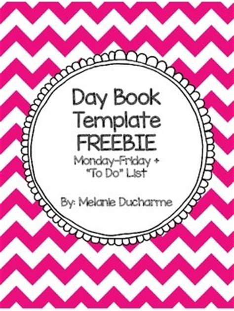 daybook template day book template freebie by teaching with mrs d