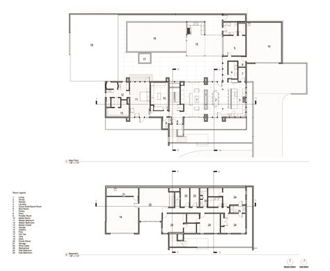 mountain architecture floor plans gallery of badger mountain house first l architecture