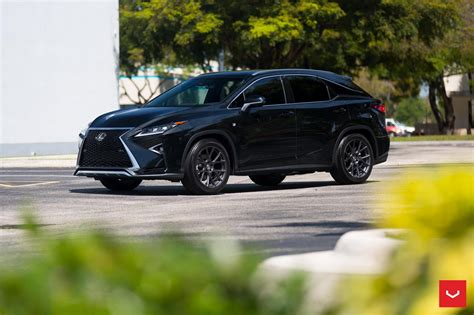 lexus rx black 2017 custom wheels help this lexus rx transition to the