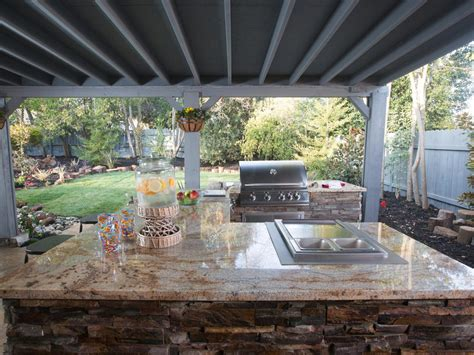 backyard grill restaurant eight backyard makeovers from diy network s yard crashers