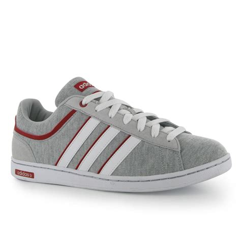 Adidas Neo Derby 4 adidas neo derby casual trainers mens grey white
