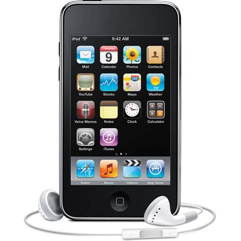 Second 3 32gb apple refurbished ipod touch 3rd generation mc008ll ar b h