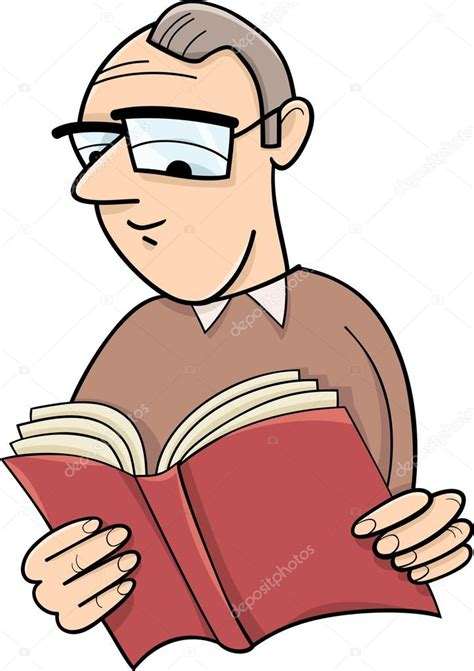 inicio libros de dibujos animados vector de stock lector con ilustraci 243 n de dibujos animados de libros