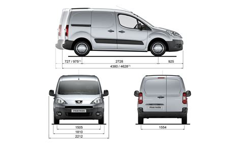 Peugeot Partner Tepee Dimensions Peugeot History Of The Brand Catalog Of Models And