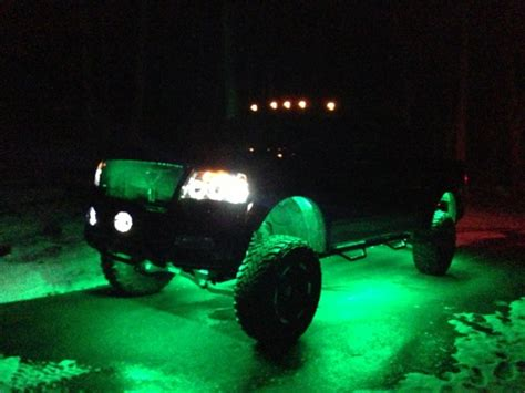 underglow lights for trucks led service lights under glow ford f150 forum