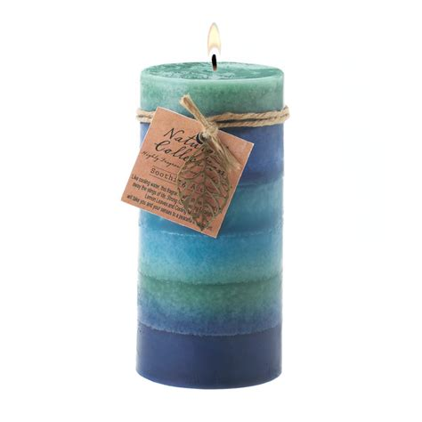 Bulk Candles Wholesale Soothing Leaf Pillar Candle Buy Wholesale