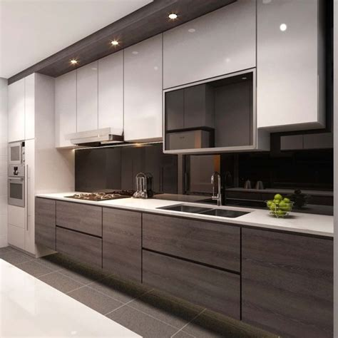 25 best ideas about contemporary small kitchens on pinterest best modern kitchen cabinets