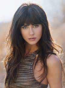 hairstyle with a few bangs best 25 hairstyles with bangs ideas on pinterest hair