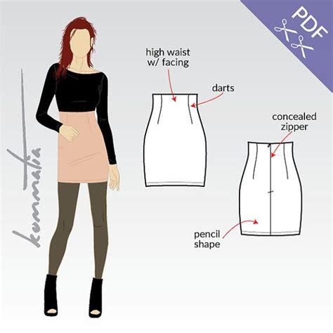 skirt pattern waist ease 71 best sew patterns skirts images on pinterest
