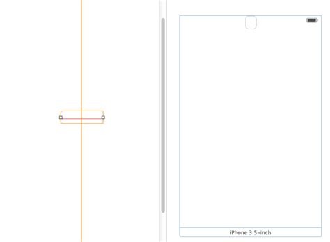 xcode horizontal layout objective c horizontal center constraint issue in ios