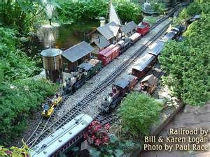 Garden Railway Layouts Planning Your Garden Railroad For Operations