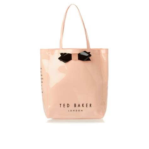 ted baker larcon bow icon bag light pink free uk delivery