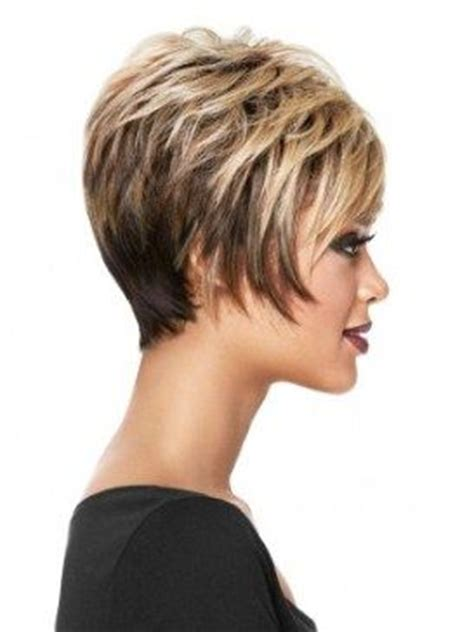 short hairstyle with longer wispy sides and back short layered bob w wispy sides gorgeous short hair