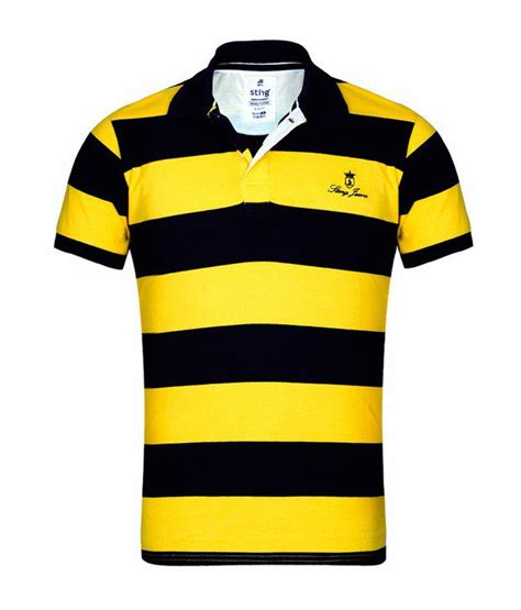 Sepatu Prewalker Polo Black Yellow sting yellow black striped polo t shirt buy sting yellow black striped polo t shirt
