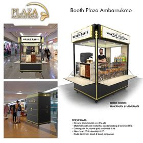 Design Booth Minuman | sribu booth design desain booth island plaza ambarrukmo y
