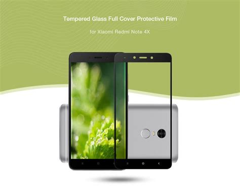 Tempered G Ultra Screen Redmi Note 4x Black Gold White asling tempered glass cover protective for redmi note 4x free shipping dealextreme