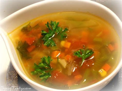 Vegetable Broth Detox Diet by Nutrition Give Yourself A Fresh Start