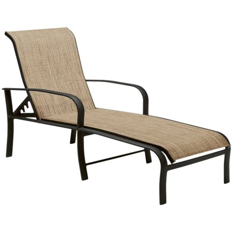 Patio Chaise Lounges fremont adjustable chaise lounge by woodard patio