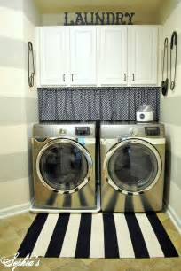 Laundry Room Curtain Decor Design And Decor Laundry Room Reveal