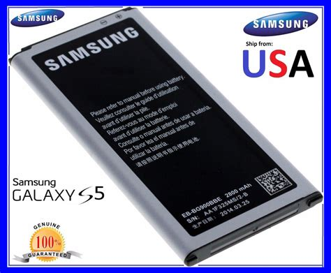 samsung galaxy s5 replacement battery new genuine oem samsung galaxy s5 battery 2800mah for i9600 g900s g900f ebay