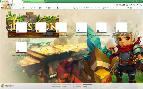 themes google chrome adventure time screenshots