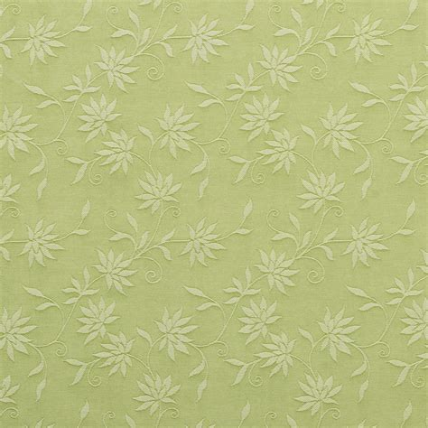 upholstery linen fabric by the yard c125 green floral jacquard linen look upholstery and