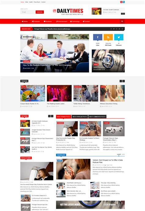 15 Best Blog Magazine Responsive Joomla Themes Joomla Magazine Template