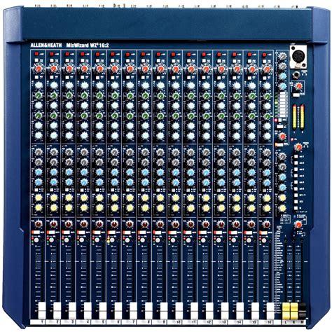 Mixer Allen Heath 16 Ch allen heath mixwizard wz3 16 2 16 channel stereo mixer