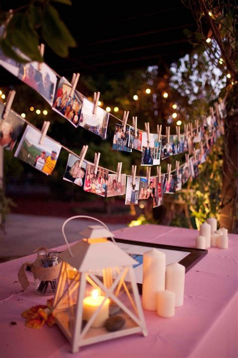 display wedding photo hanging ideas - Photograph Hanging Ideas