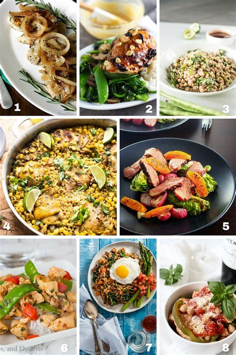30 Minute Meals 58 easy 30 minute meals for busy families