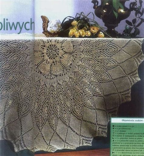 knitting patterns for tablecloths 17 best images about knitted doilies on