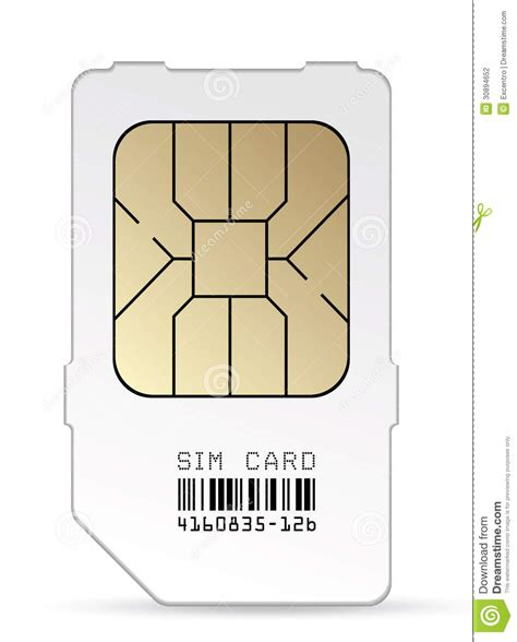 micro sim card template 8 5x 11 sim card stock photography image 30894652